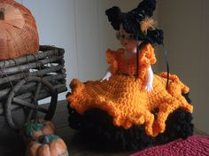 NotSoSpooky Halloween Witch Air Freshener Doll by PeggysPatch