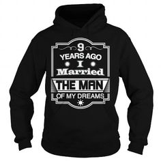 10 Years Ago I Married The Man of My Dreams T Shirt Gift