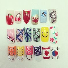 Check out our selection of cute looks for spring! Match with a cute pedicure.  #aritumspa #nails #nailart #manicure