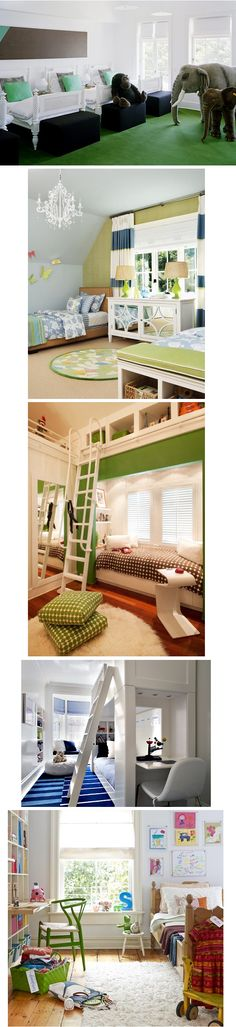 Boys Bedroom for older and younger