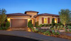 Joanna-CAL-Exterior Twilight | Joanna floor plan | Richmond American Homes | ,  |