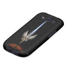 Angel Wing Sword Of Arkledious Blk Galaxy S Case Samsung Galaxy S3 Case $53.95