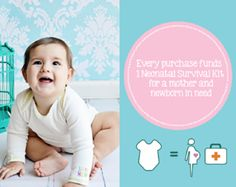 Baby Hero is a children's clothing brand that makes beautiful organic products. Every Baby Hero item funds a Neonatal Survival Kit for a mother and baby in need.