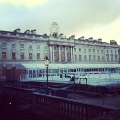 Our HQ Somerset House in all of its wintery glory.