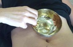 #Belly #Bowl 7 métaux Bol de #massage #indien #ayurvéda