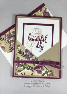 Best 12 Stampin Up Love What You Do All Occasion card idea from the Share What You Love Suite -Jeanie Stark StampinUp – SkillOfKing. Fun Fold Cards, Love Cards, Folded Cards, Easy Cards, Stamping Up Cards, Pretty Cards, Card Sketches, Up Girl, Paper Cards