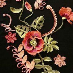Deep Autumn Color Palette, Irish Crochet, Crochet Flowers, Exotic, Crochet Necklace, Image, Jewelry, Asia, Ireland