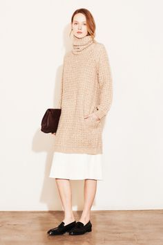 Elizabeth and James | Fall 2014 Ready-to-Wear Collection | Style.com/ Turtleneck