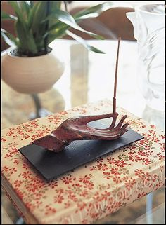Cool incense holder