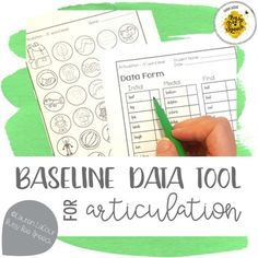 I created this product to help gather some quick baseline data from my articulation students at the beginning of the school year. These half-sheets are super easy to use. Just print, cut, and start taking data! This packet includes initial, medial, and final targets for