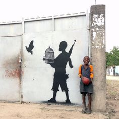 Street Art by Going in Kinshasa Congo Peace Unleashed