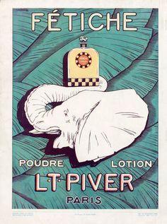 Piver (Perfumes) 1927 Fétiche Elephant.