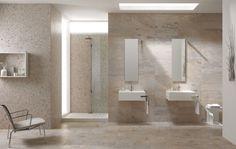 colorer en blanc les cotés de douche faire un fond ton sur ton avec la couleur des murs