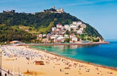 San Sebastián is on Fodor's Go List 2016 ~ At the heart of Spain's culturally unique Basque Country, San Sebastián is one of the region's most popular cities, renowned for its beautiful promenade and La Concha beach. #Basque_Country #San_Sebastian