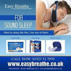 Use effective nasal strips for a sound sleep http://goo.gl/R84AUP
