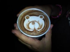 Ah Cacao Chocolate Cafe: My daughters hot chocolate. Too creative and cute.