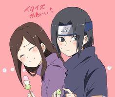 Izumi and Itachi.
