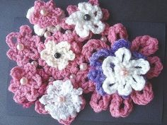 GET YARN AND HOOKS HERE: http://hectanoogapatterns.blogspot.ca/p/yarn-and-hooks.html    Beginner crochet  flower tutorial