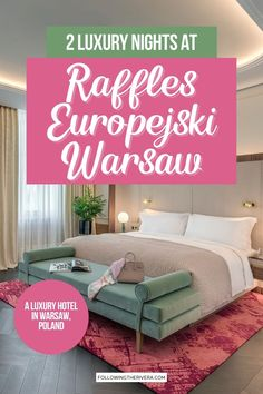 Raffles Europejski Warsaw. Add a touch of luxury to your Warsaw trip by booking a few nights at the exquisite Raffles brand luxury hotel. | Warsaw Trip | Warsaw Travel | Poland Travel | Poland Trip | Where To Stay In Warsaw | Luxury Hotel In Warsaw | Hotel In Warsaw | Raffles Hotels | Europe Trip | Luxury Travel Europe Travel Guide, Travel Abroad, Travel Destinations, Warsaw Hotel, Travel Ideas, Travel Inspiration, Treehouse Hotel, Visit Poland, Poland Travel