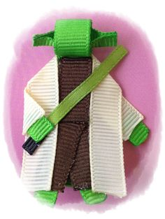 Star Wars Yoda Hair clip by RikapandaCrafts on Etsy