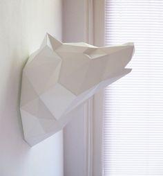 Papier Wolf pliant Kit * pré-commande * par AssembliShop sur Etsy https://www.etsy.com/fr/listing/223719866/papier-wolf-pliant-kit-pre-commande