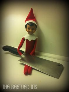 As if the Elf on the Shelf could get any MORE creepy.