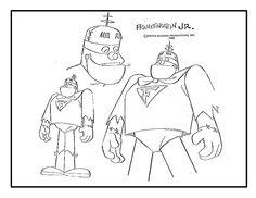 Character Model Sheets From Animation History Character Model Sheet, Character Modeling, Character Art, William Hanna, Vintage Cartoon, A Cartoon, Lb Image, Desenhos Hanna Barbera, 1930s Cartoons
