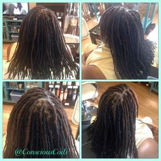 Conscious Coils Natural Hair Salon (Portland, OR) #consciouscoils #naturalhair #teamnatural #salon #hair #portland #pdx #portlandoregon #oregon #naturalista #locs #locextensions #permanantlocextensions #loctician
