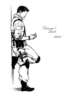 observer!derek by K2Karine.deviantart.com on @deviantART