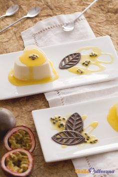 Passione Heart Shaped Passion Fruit Dessert Rende Questo