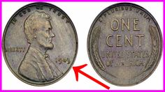 Always be sure to check your pocket change and collectors coins carefully. There are some extremely valuable coins floating around out there! To receive a dis Valuable Pennies, Rare Pennies, Valuable Coins, Old Pennies Worth Money, 1943 Penny, Old Coins Value, Rare Coins Worth Money, Wheat Pennies, Copper Penny