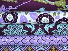 Beautiful color combo for a quilt!  Also available from Hawthorne Threads.