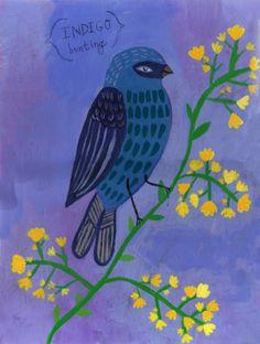 _bird yellowflowers