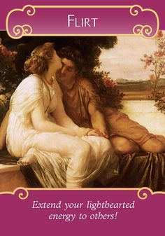 Oracle Card Flirt | Doreen Virtue | official Angel Therapy Web site