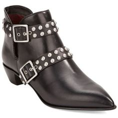 Marc By Marc Jacobs Carroll Studded Leather Ankle Boots