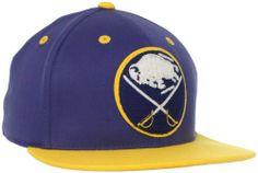 f68af731733 NHL Buffalo Sabres CCM Flat Visor Flex Fit Hat adidas.  13.32