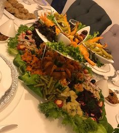 Inspirations - Ilham Home Decorations Lunch Snacks, Cobb Salad, Buffet, Cooking, Health, Recipes, Walima, Decorations, Inspiration