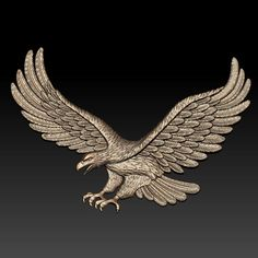 Eagle Relief 3D Model - 3D Model