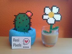 Hama beads plants by Rosi Pixels