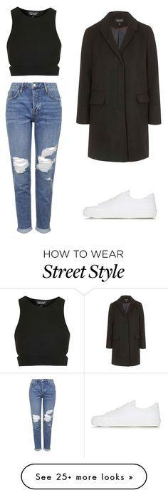 """Topshop Street Style"" by fayelambie on Polyvore featuring Topshop"