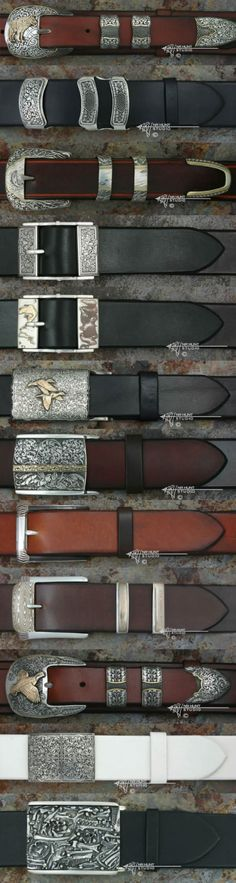 Handcrafting silver and gold belt buckles                                                                                                                                                                                 More