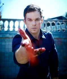 Michael C Hall. Dexter :)) most certainly a character of action !
