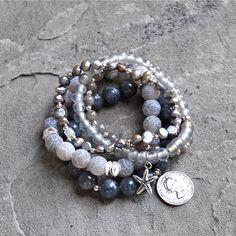 LOVE LOVE LOVE bracelets by Bead Rustic! www.etsy.com/shop/beadrustic