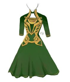 The best part of this Loki inspired dress is that in the comic book canon, Loki might actually wear something like this. Description from pinterest.com. I searched for this on bing.com/images