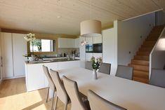 Herger Klimaholzbau AG • Spiringen Inspiration, Table, Furniture, Home Decor, Wooden Cottage, Homes, Biblical Inspiration, Room Decor, Home Interior Design