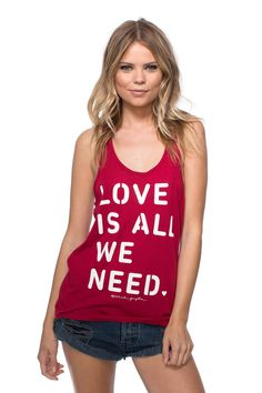 Love is All We Need Tank - Spiritual Gangster - 2