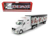 Coca Cola On Ice Tractor Semi Truck & Trailer 1/64 Scale Diecast Model By Motor City Classics 434618