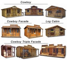 Southern California Custom Wood Rustic Shed Builder - The mother load :) Building A Shed, Building Plans, Trailer Casa, Old Western Towns, Tiny House, Rustic Shed, Shed Builders, Old West Town, Garage Loft