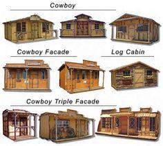 western cowboy sheds