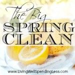 How to Deep Clean Your Kitchen - Living Well Spending Less™